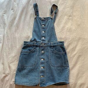 pacsun overall dress